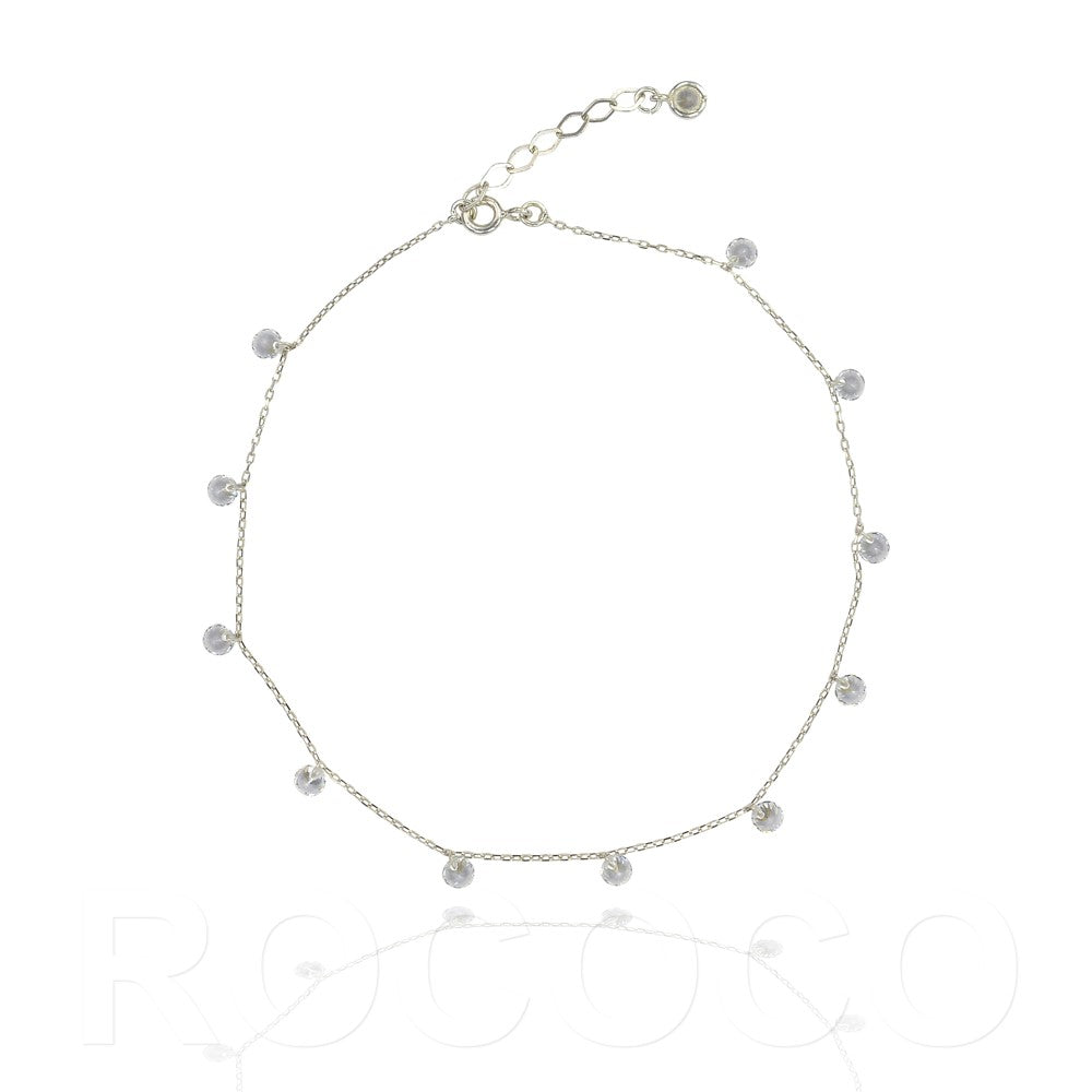 Drop diamond bracelet