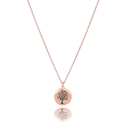 Tree of life long necklace