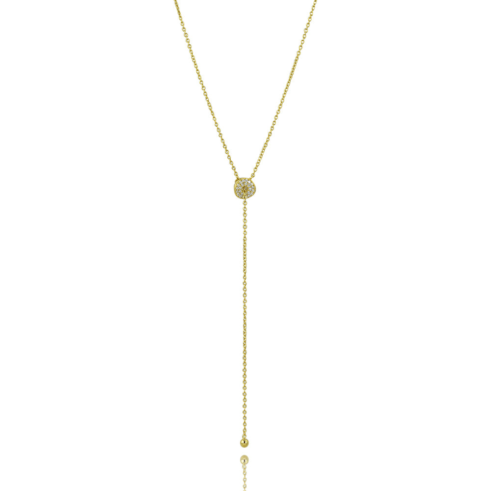 Infinite Karma classic lariat necklace