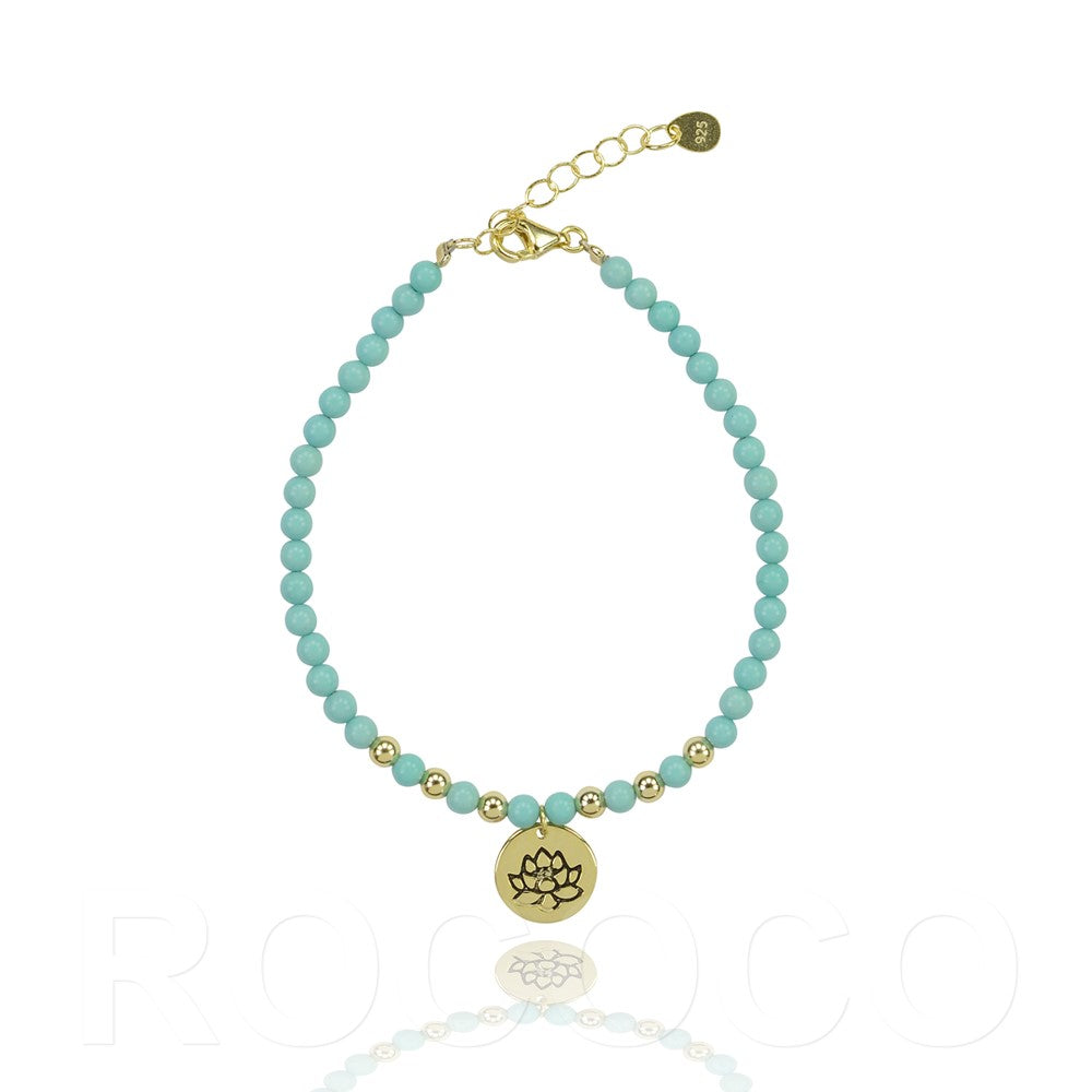 From challenges the best things grow lotus bracelet