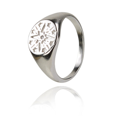 Starburst Disc ring