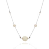 Pearls of wisdom classic 3 pearl  necklace