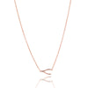 wishbone goodluck necklace