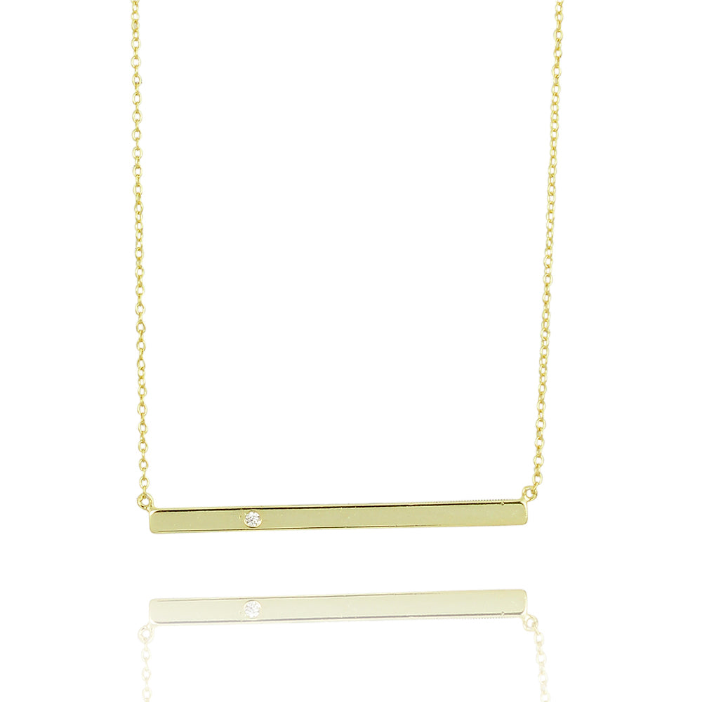 Bar balance classic necklace