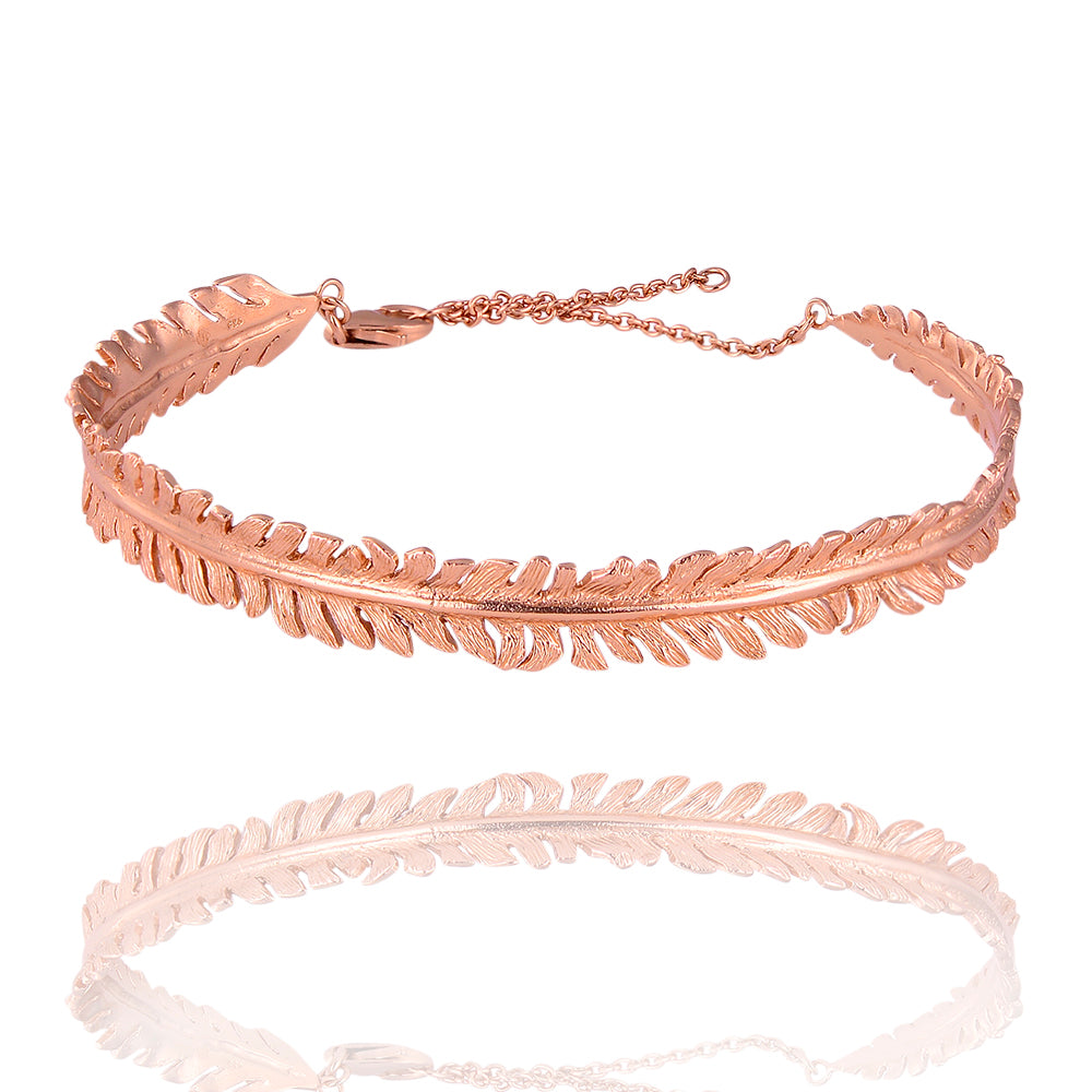 Leaf joy bangle