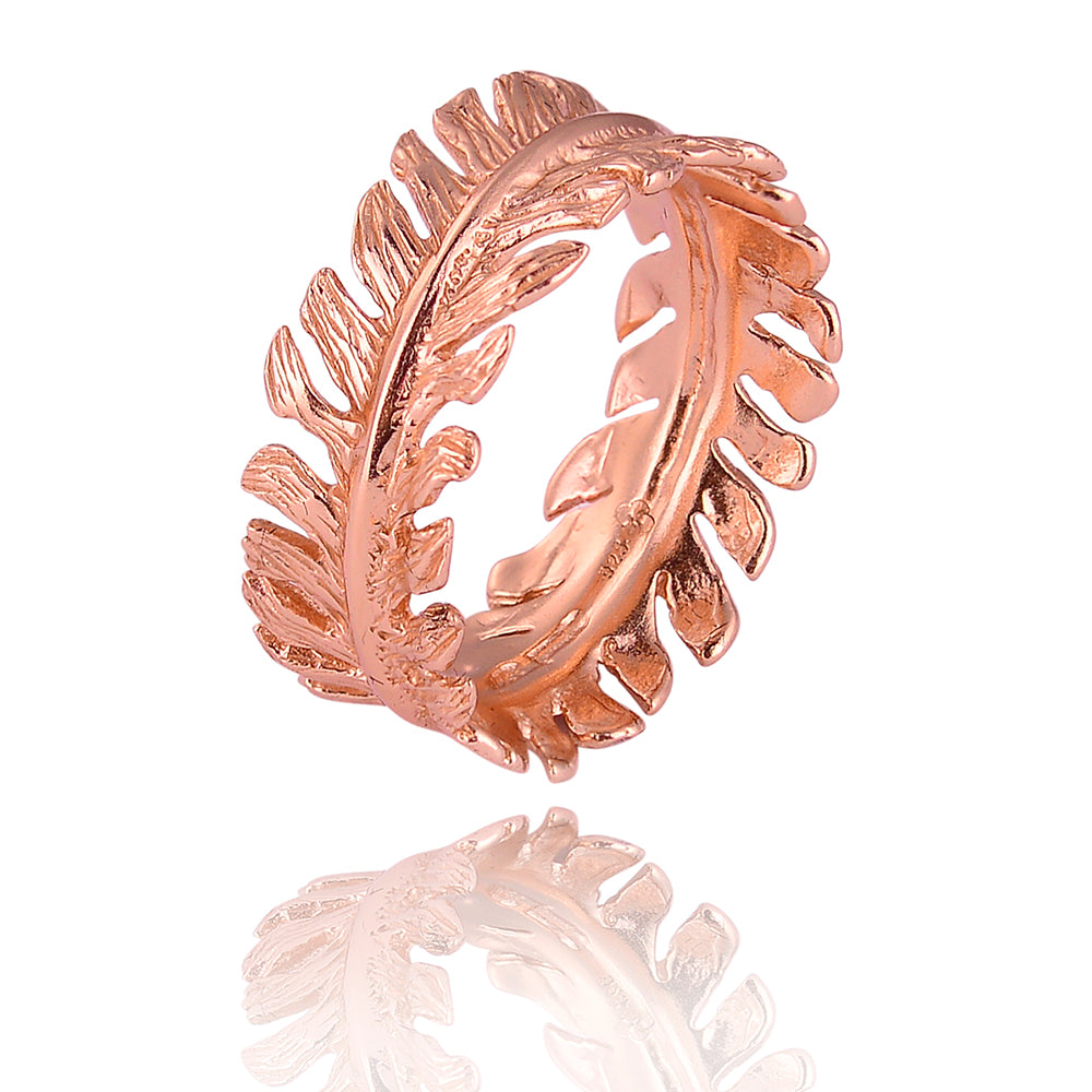 Leaf joy ring