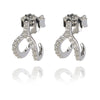 Horse shoe good luck hugger earing