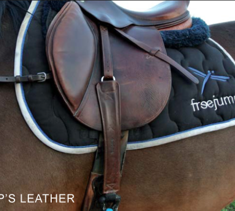 FreeJump Stirrup Leathers