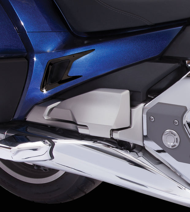 Side Panel Vent Trim Kit in Black or Chrome