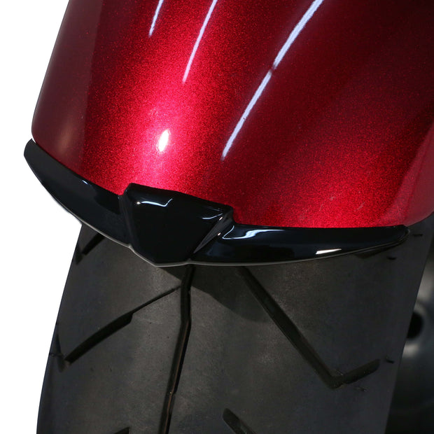 Front Fender Tip in Black or Chrome