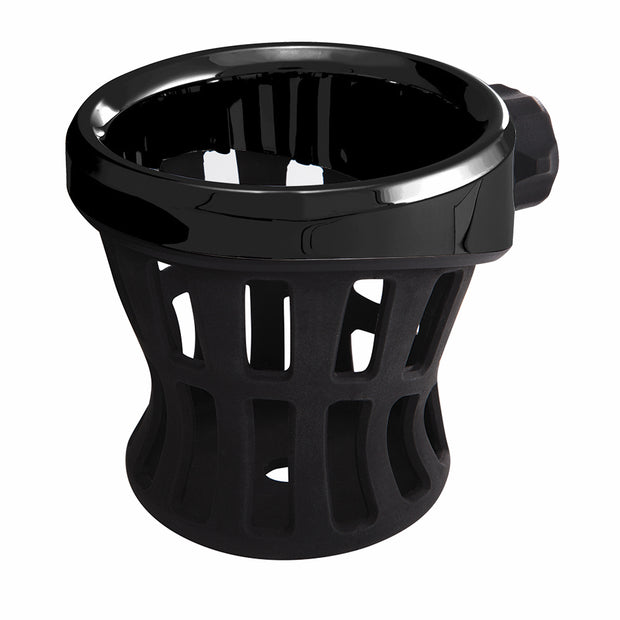 Chrome Right Side Drink Holder in Black Or Chrome