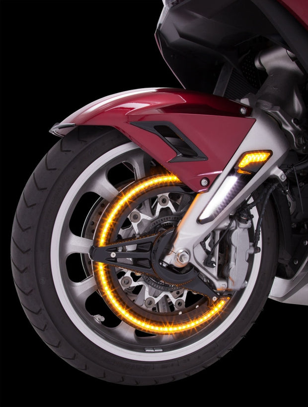 Led Rotor Covers In Black Or Chrome Goldstrike