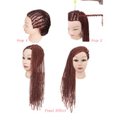 Express Individuality Long Instant Noodles Volume Wig Hair Extension Wigs Fashion Hairpieces