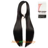 Natural Heat Resistant Side Bangs Straight Wigs Cosplay Wigs