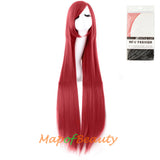 Multicolor Long Straight Party For Women 40 inch Synthetic Hair Replacement Wig
