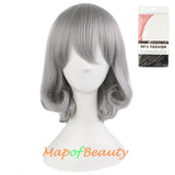 Pear Head Hair Anime Costume Short Curly Fashion Cosplay Wigs