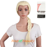 Girl Braid Anime Cosplay Wigs Synthetic Costume Party Hair