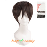 10 Inch Anime Short Hair Short Paragraph Male Cosplay Wigs