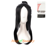 Anime Cosplay Wigs For Men Cosplay Wig Wave Bangs Long Gripper Ponytail Chinese Ancient Style Hair