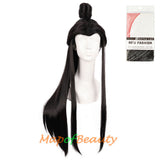 Long Anime Cosplay Costume Male Bun Beauty Tip Natural Wigs