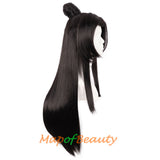 Long Curly Wigs Beauty Tip Ancient Style Novel Ancient Style Cosplay Mens  Bun Hair
