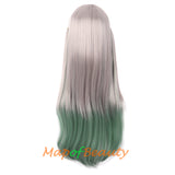 Long Wavy Curly Ombre Cosplay Anime Toilet-Bound Hanako-kun Yahiro Nene Synthetic Wig with Bangs Lolita Hair