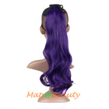 Fluffy Cute Big Wave Roll Synthetic Curly Strap Type Ponytail