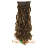 Chestnut Brown Mixed With Dark Blonde