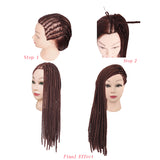 Carnival Fashion Show Long Spiral Curl Quantity 20 Hip-Hop Wigs Hairpieces