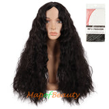 African small roll European and American female realistic in the long curly hair afro small wave wig