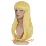 Flat Bangs Long Bent Tail Wigs Synthetic Wigs Ordinary Wigs For Women