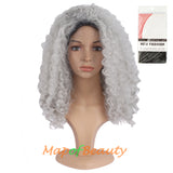Whole Little Natural Curly Holidy Afro Instant noodles volume Wigs