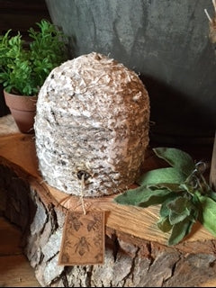Small Weathered Bee Skep