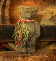 Primitive Standing Christmas Bear
