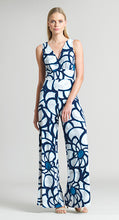 Load image into Gallery viewer, Sunflower Print Signature Jumpsuit - White/Navy