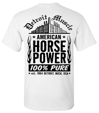 Large Factory Back T, White