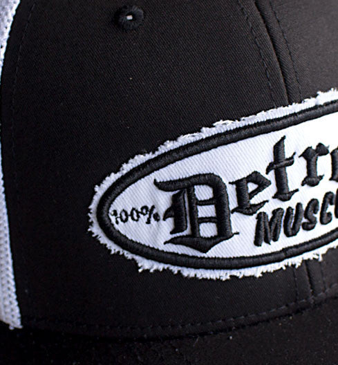 Trucker Hat, Flex Fit, Black and White