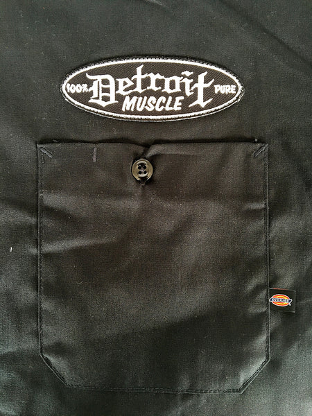 Sewn Patch above Pocket