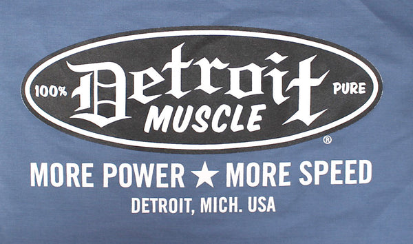 Detroit Muscle Work Shirt , Factory Blue