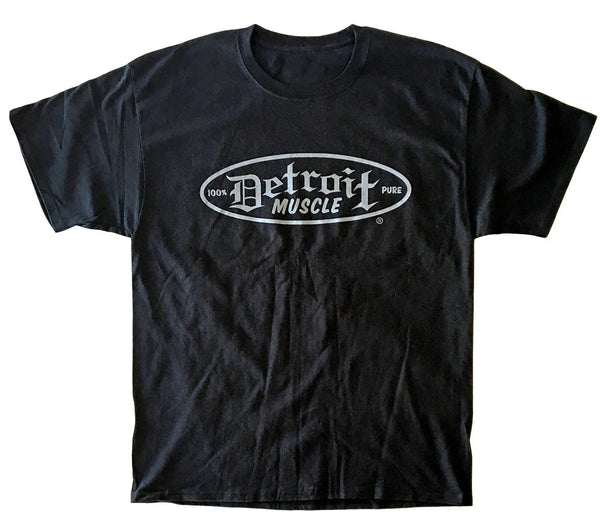 Skull and Wings Speedshop T, Detroit Muscle Logo Front, Skull and Wings Back