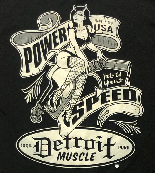Detroit Muscle, Devil Girl, Hell on Wheels