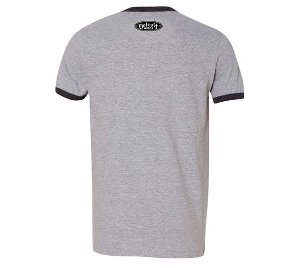 Garage Modified Ringer T-Shirt, Grey