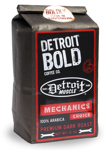 Detroit Muscle Mechanics Choice, Dark Roast