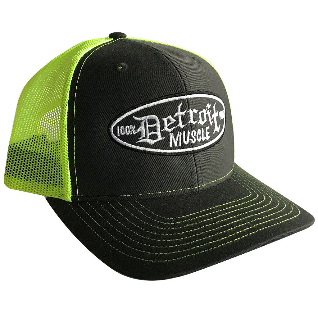 Trucker Hat, Snap Back, Neon Green