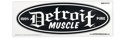 Detroit Muscle Decal