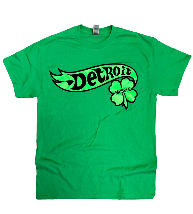 Detroit Muscle Limited Edition St. Patricks Day Tee