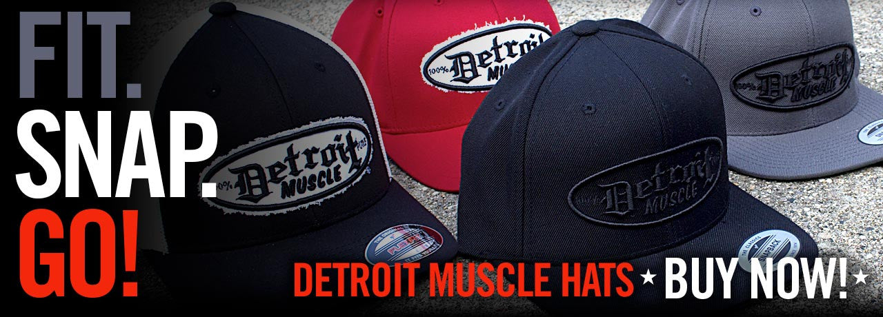 Detroit Muscle Hats Buy Now