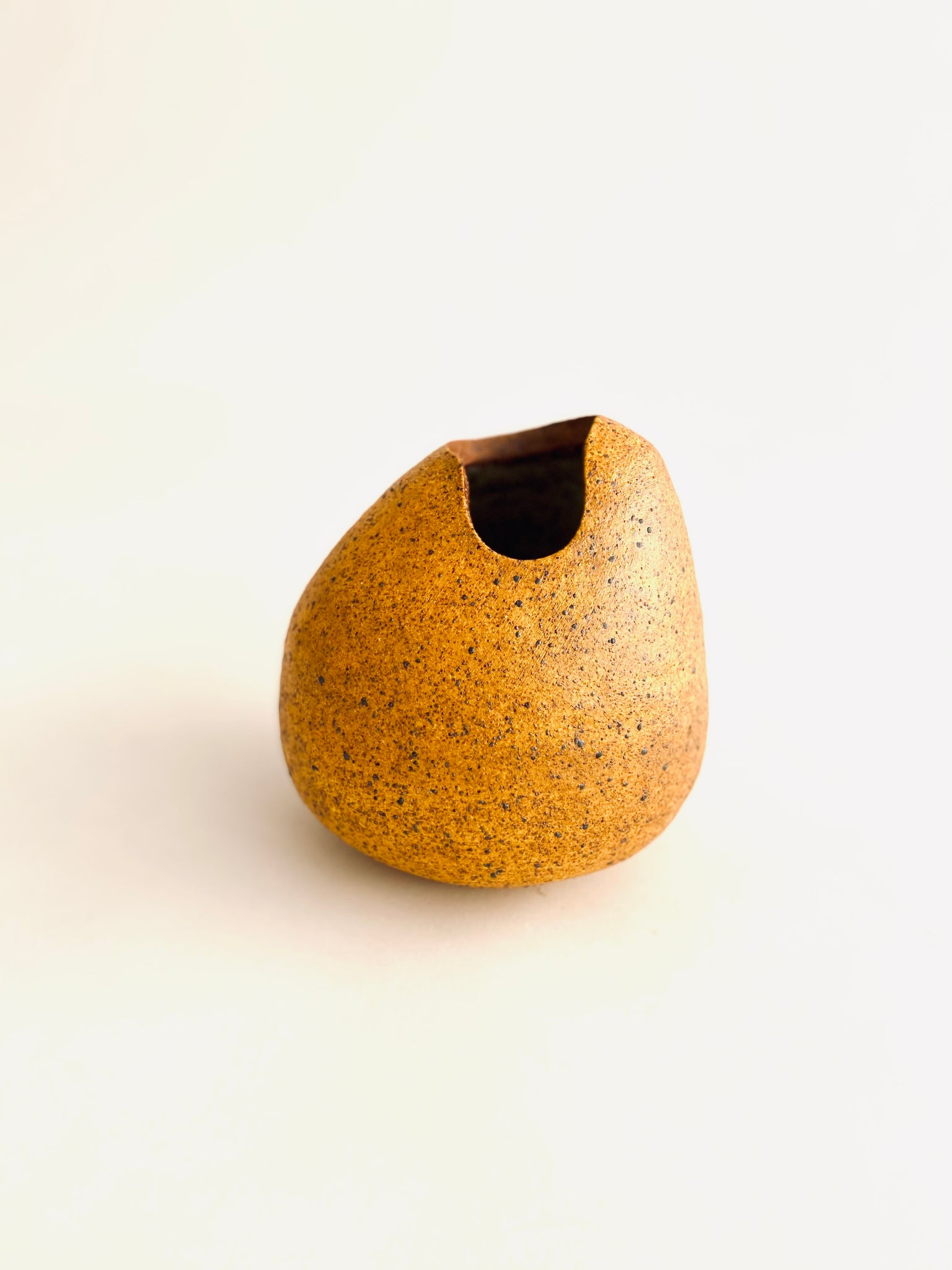medium yellow vase