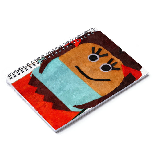 Rosa Spiral Notebook - Ruled Line