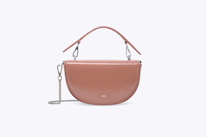 LUNA INTERCHANGEABLE TOP HANDLE BAG COVER SET IN PEARL PINK - UMBRO KAIXI